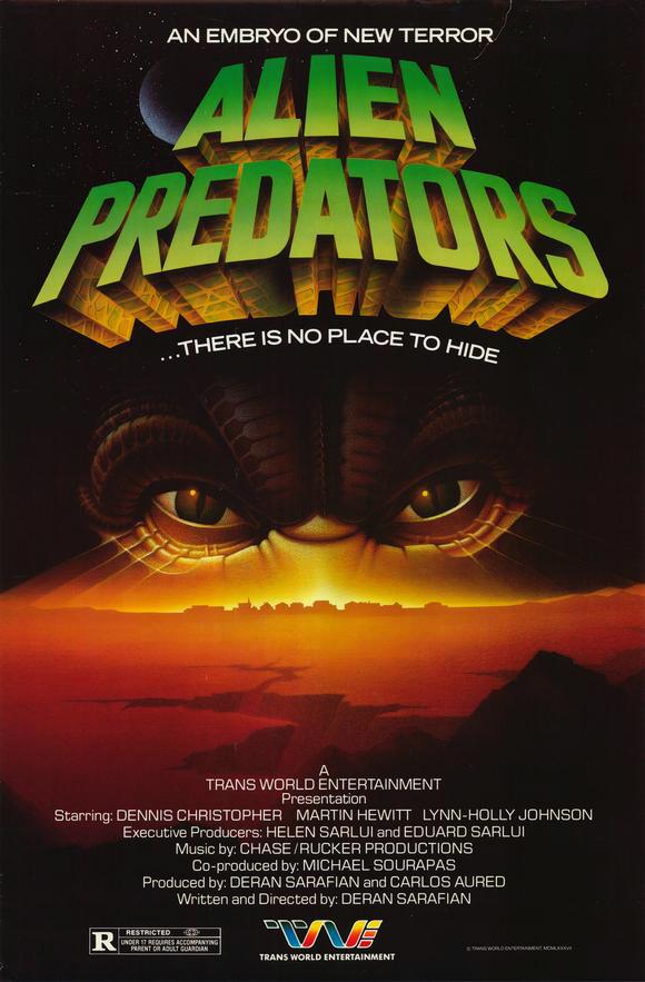 Alien Predator 1985 720p BluRay x264-SADPANDA