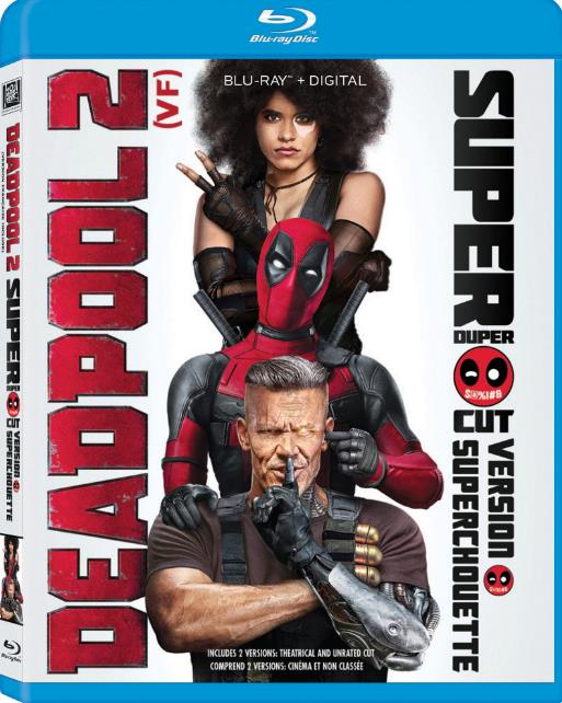 Deadpool 2 2018 720p WEB-DL x264 Dual Audio Hindi (Cleaned) - English 2 0 ESub MW