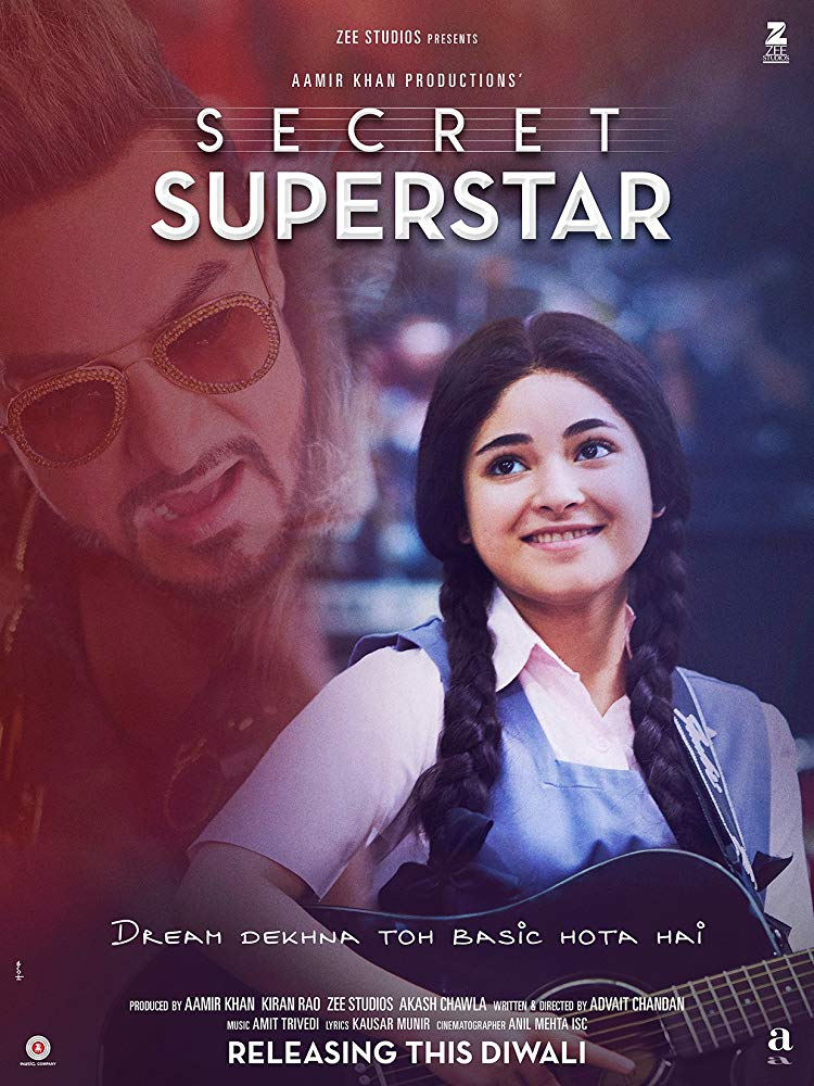 Secret Superstar (2017) Hindi 720p BluRay ESubs-DLW