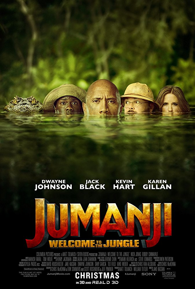 Jumanji Welcome to the Jungle 2017 1080p BluRay x264 Dual Audio Org Hindi DD 5 1 - English DD 5 1 ESub MW