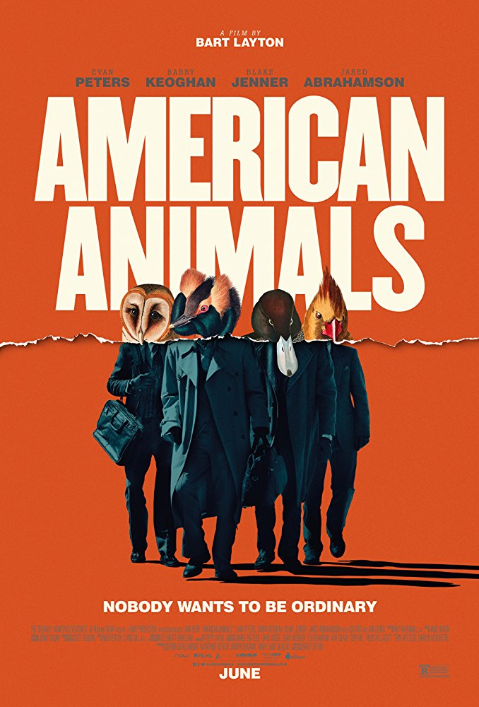 American Animals (2018) BRRip XviD AC3-EVO