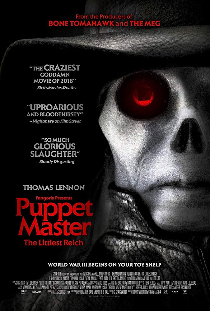 Puppet Master The Littlest Reich (2018) HDRip XViD-ETRG