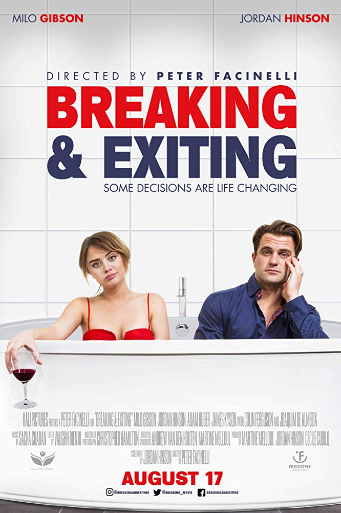 Breaking And Exiting (2018) 720p WEB-DL XviD AC3-FGT