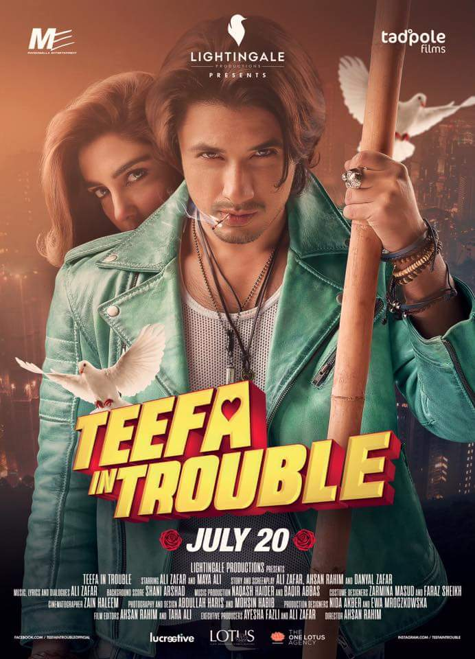 Teefa In Trouble 2018 CAMRip 720 Urdu H264 AAC - LatestHDMovies Exclusive
