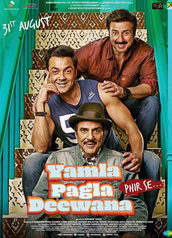 Yamla Pagla Deewana Phir Se (2018) Hindi 720p HDRip x264-DLW