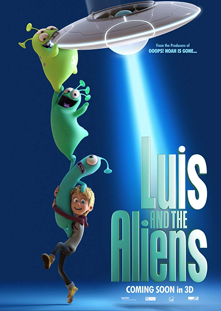 Luis and His Friends from Outer Space 2018 HDRip XviD AC3 MFH