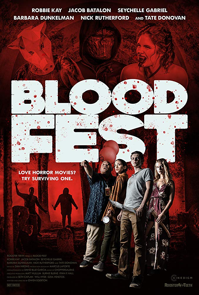 Blood Fest 2018 HDRip XviD-AVID