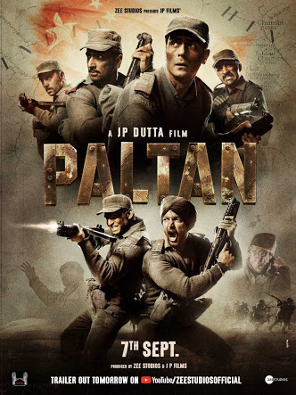 Paltan (2018) Hindi 1-3 PRE CAMRIP X264 AC3-DTONE