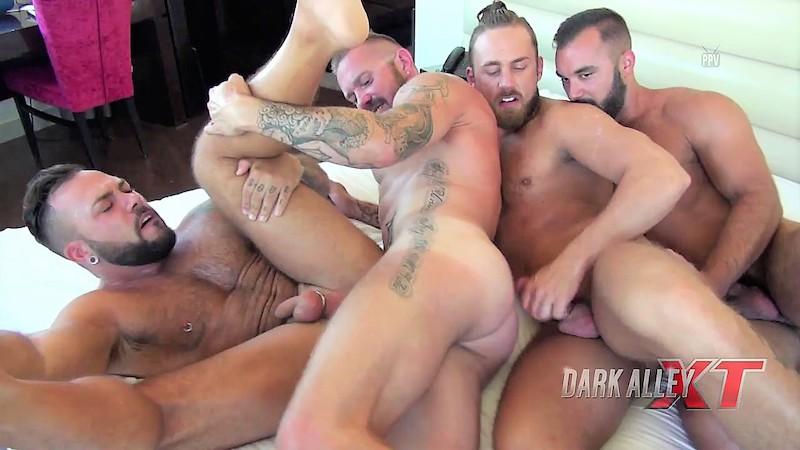 Group Pound This Ass (Dark Alley)