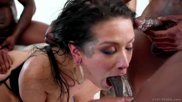 EvilAngel Katrina Jade Addicted To Black XXX