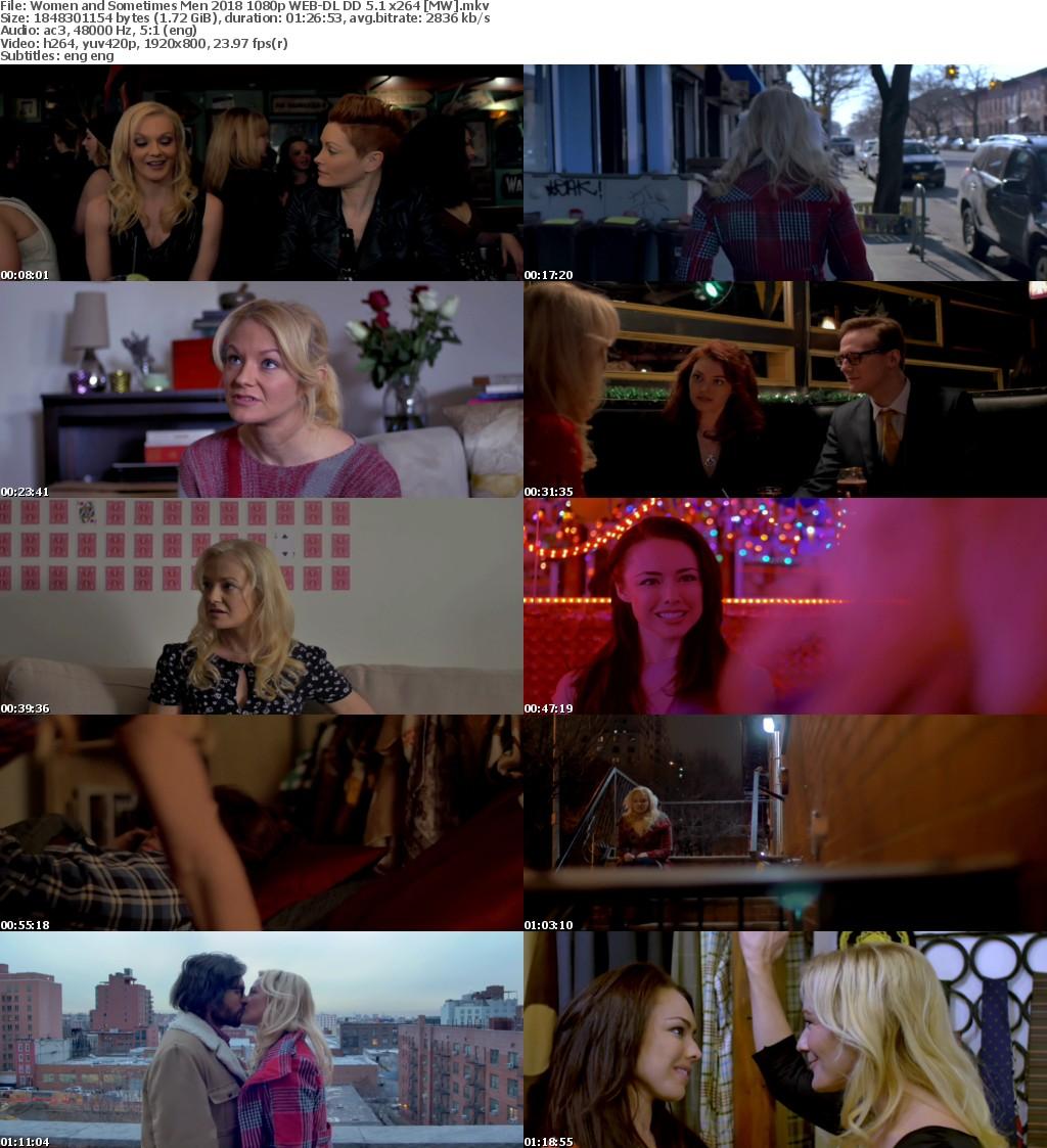 Women and Sometimes Men (2018) 1080p WEB-DL DD 5.1 x264 MW