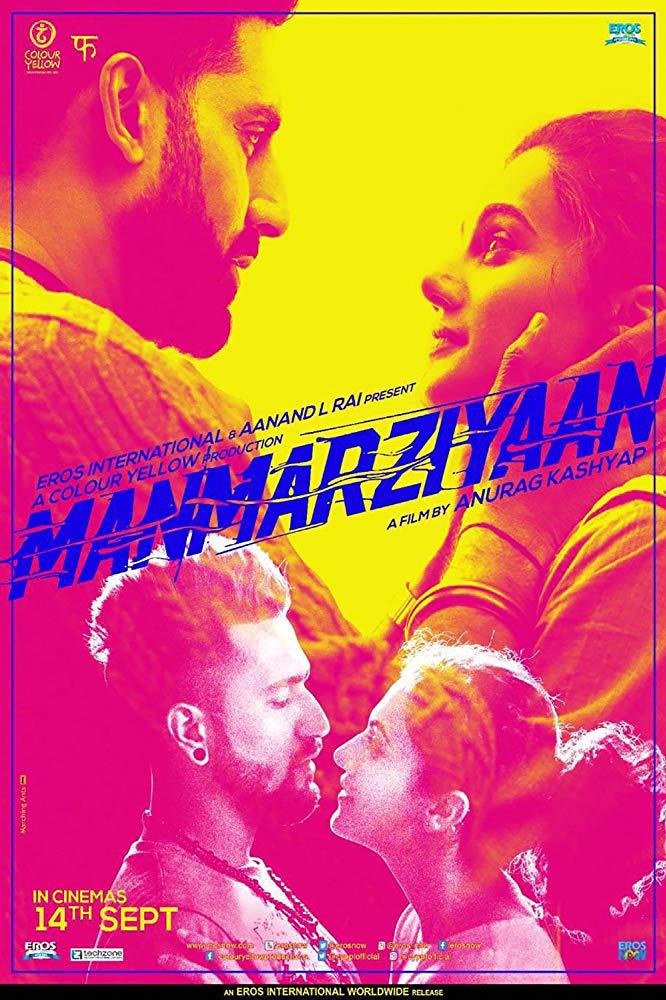Manmarziyaan 2018 Hindi 1GB CAMRip x264 AAC 2 0 - xRG