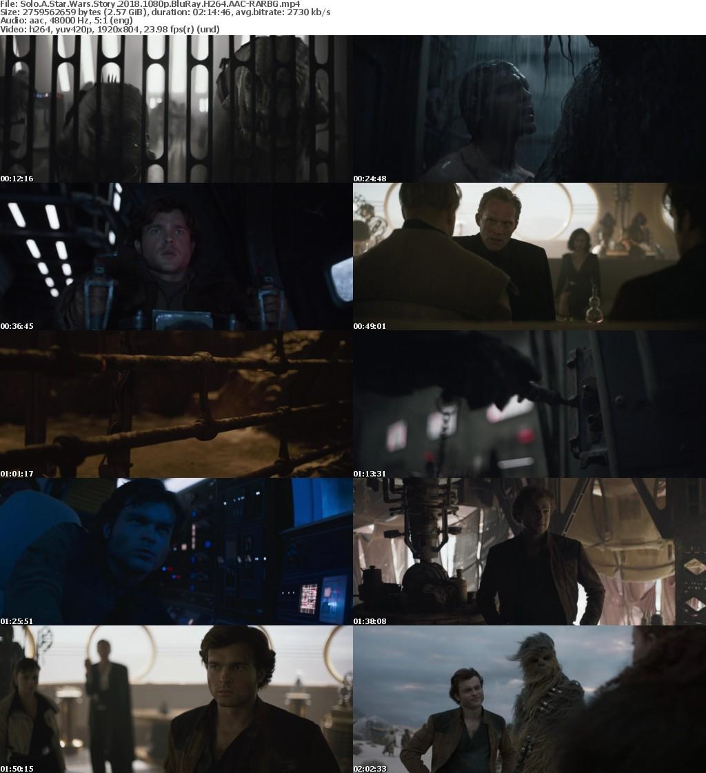Solo A Star Wars Story 2018 1080p BluRay H264 AAC-RARBG