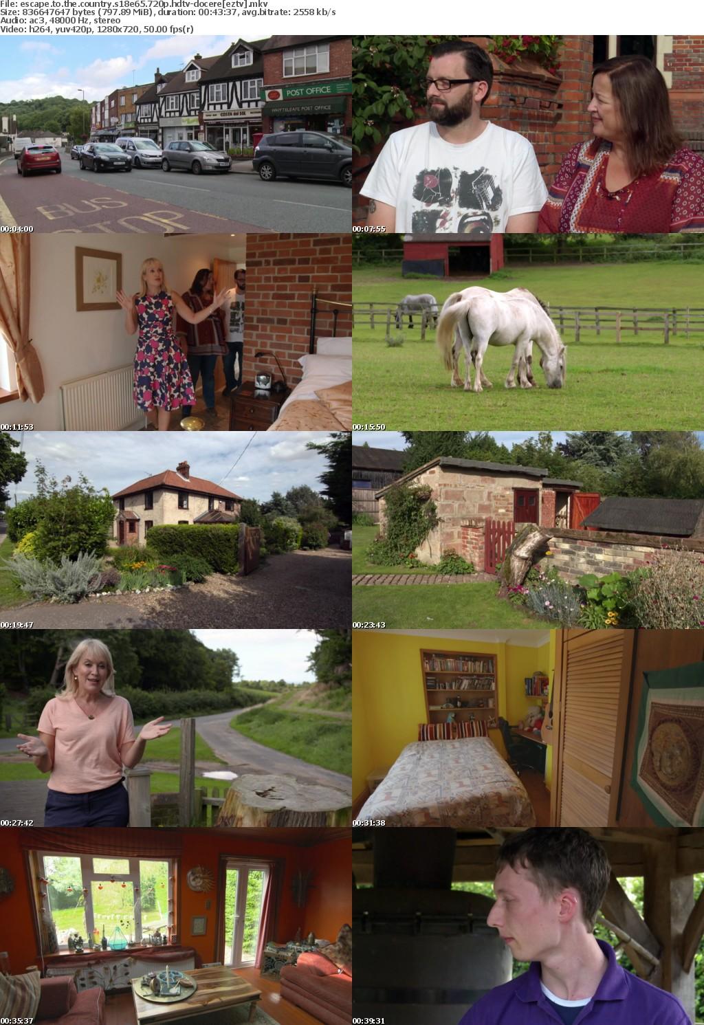 Escape to the Country S18E65 720p HDTV x264-DOCERE