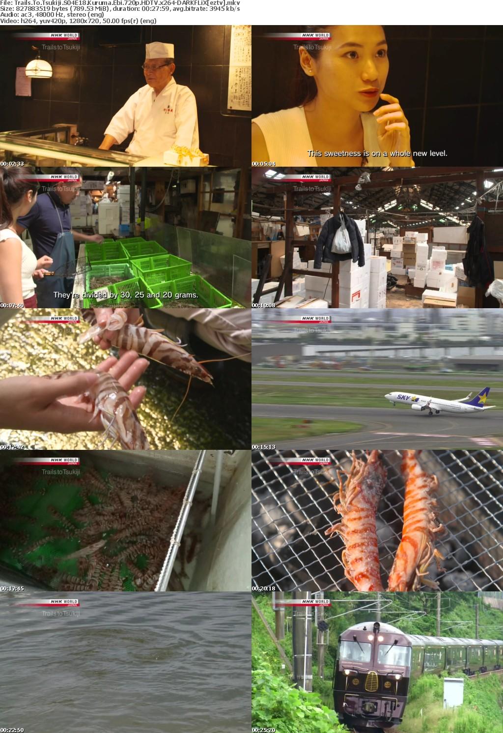 Trails To Tsukiji S04E18 Kuruma Ebi 720p HDTV x264-DARKFLiX