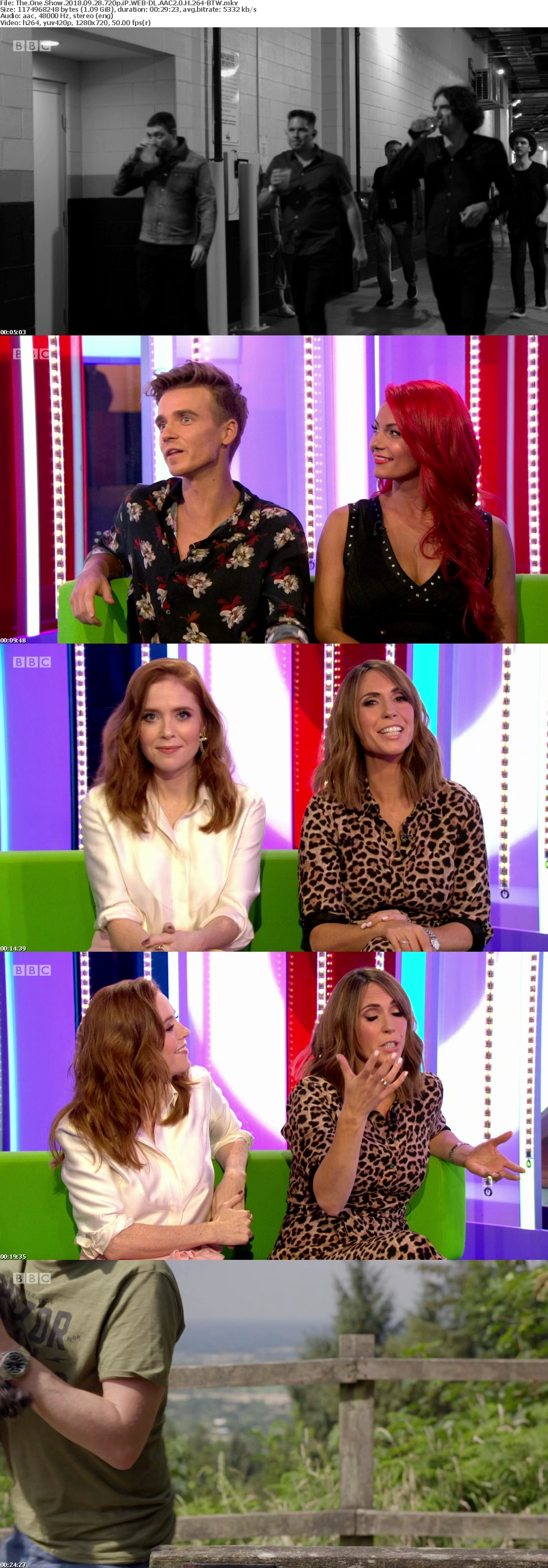 The One Show 2018 09 28 720p iP WEB-DL AAC2 0 H 264-BTW
