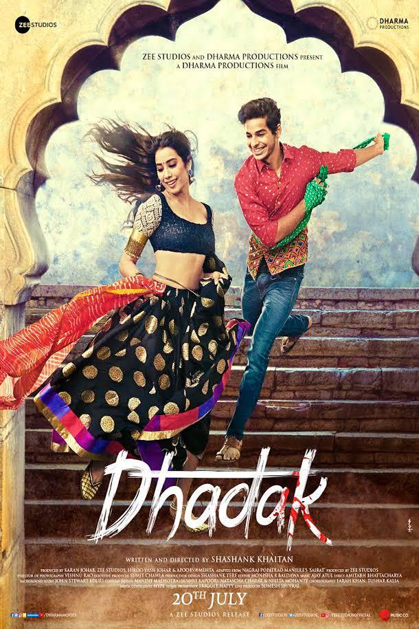 Dhadak (2018) Hindi 720p HDRip x264 AAC ESubs - Downloadhub