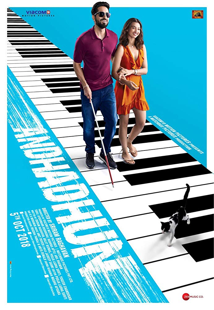 Andhadhun 2018 Hindi Movies PDVDRip x264 Clean Audio AAC New Source with Sample