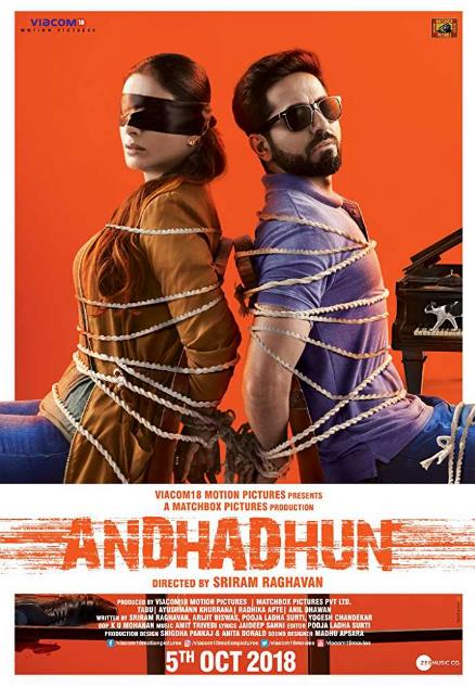 Andhadhun (2018) Hindi 1CD Pre-CAMRip x264-DLW