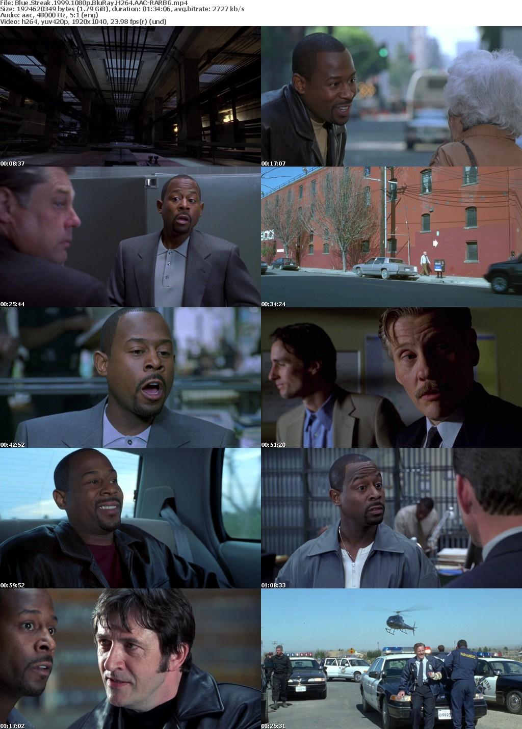 Blue Streak (1999) 1080p BluRay H264 AAC-RARBG