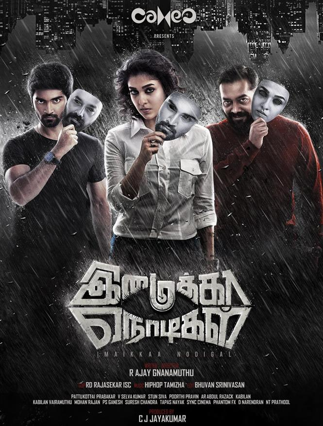 Imaikkaa Nodigal (2018) Tamil HDRip x264 AAC ESub by Full4movies