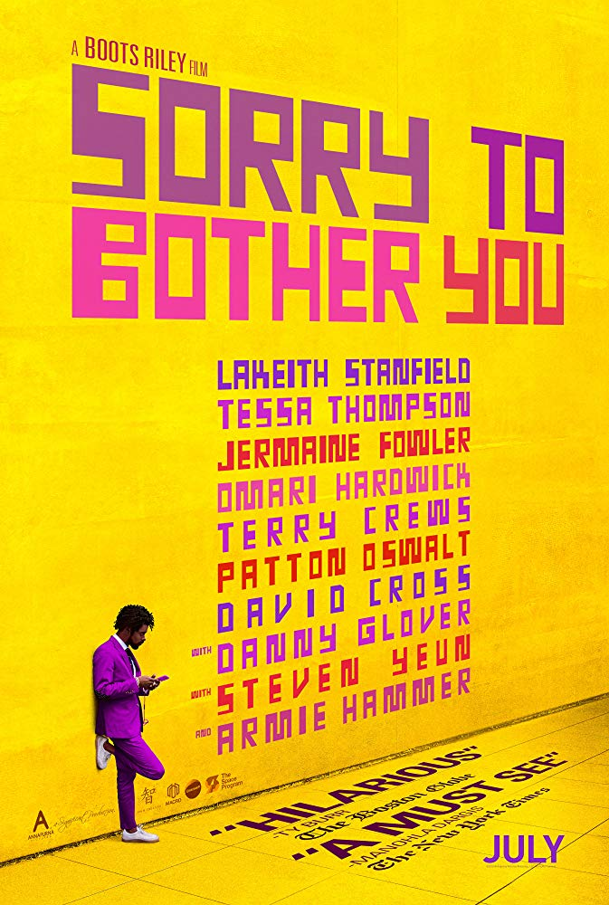 Sorry to Bother You 2018 BDRip x264-DRONES[TGx]
