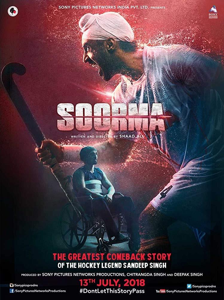 Soorma (2018) Hindi 1080p WEB-HD x264 DDP 5 1 - ESUB ~ Ranvijay