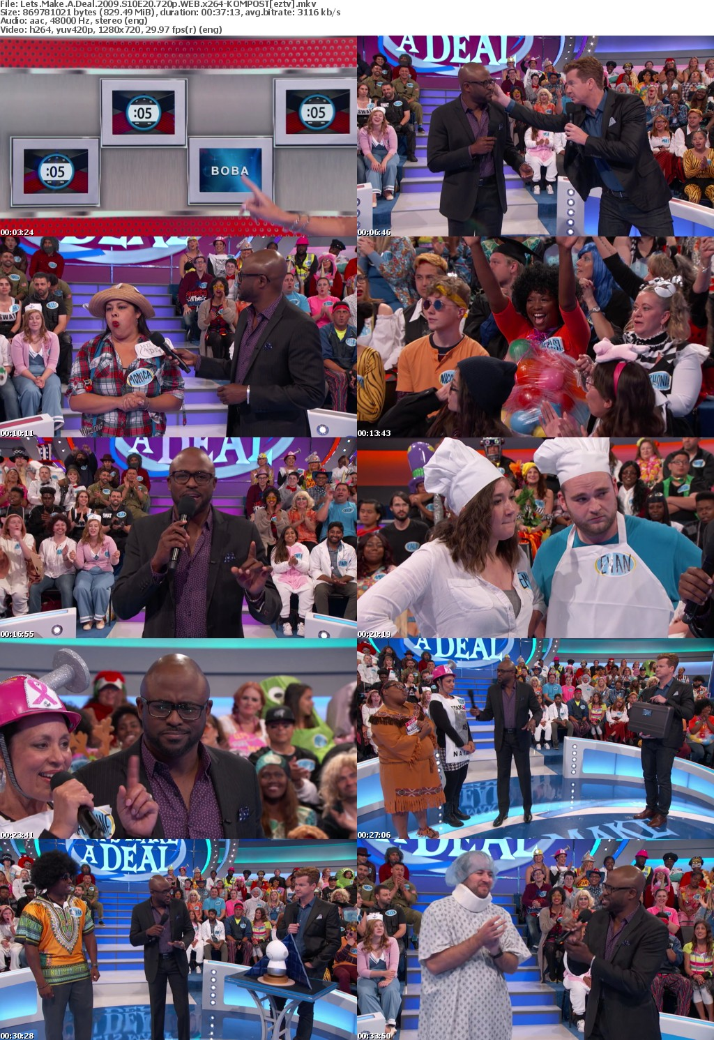 Lets Make A Deal (2009) S10E20 720p WEB x264-KOMPOST