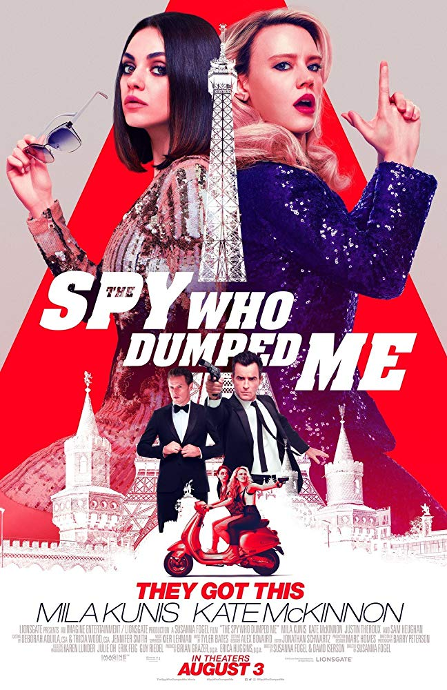 The Spy Who Dumped Me 2018 BRRip XviD AC3-EVO