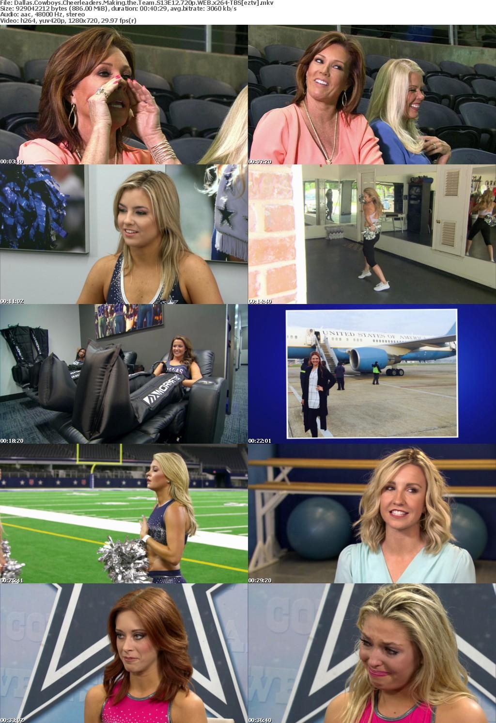Dallas Cowboys Cheerleaders Making the S13E12 720p WEB x264-TBS