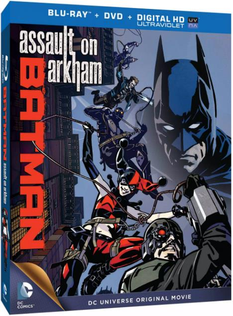 Batman Assault On Arkham (2014) 720p BluRay x264 YIFY