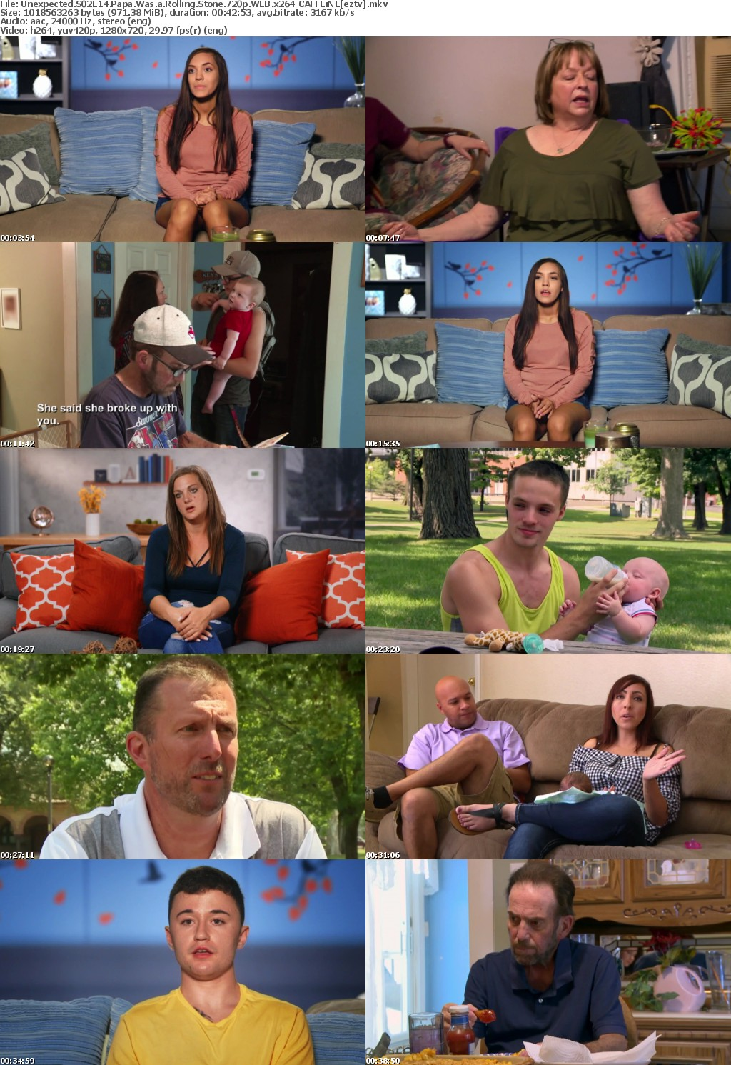 Unexpected S02E14 Papa Was a Rolling Stone 720p WEB x264-CAFFEiNE