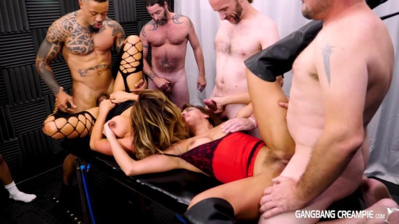 GangbangCreampie - Aubrey Black, Mercedes Carrera - GangBang Creampie 188 - 09.11.2018  - 1080p Free Download From pornparadise.org