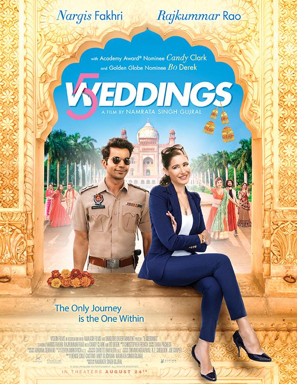 5 Weddings 2018 HDRip XviD AC3-N30N[TGx]