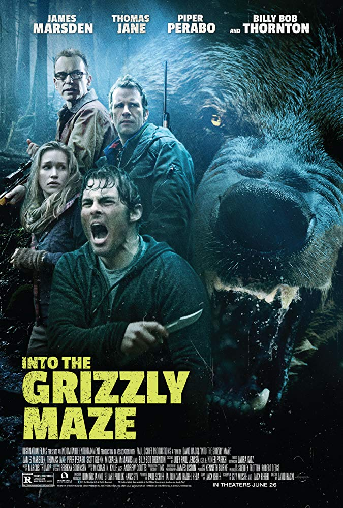Into the Grizzly Maze 2015 BRRip XviD MP3-XVID