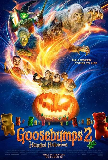 Goosebumps 2 Haunted Halloween 2018 1080p WEB-DL x264 Dual Audio Hindi - English DD 5 1 ESub MW