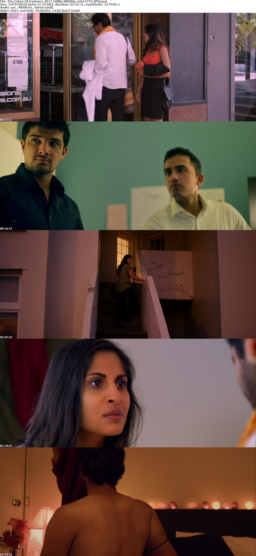 The Colour of Darkness 2017 [WEBRip] [1080p] YIFY