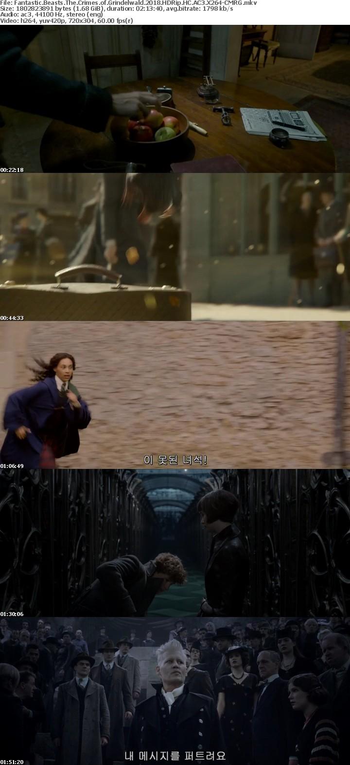 Fantastic Beasts The Crimes of Grindelwald 2018 HDRip HC AC3 X264-CMRG[TGx]