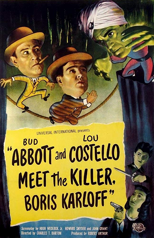 Abbott and Costello Meet the Killer, Boris Karloff 1949 DVDRip XViD