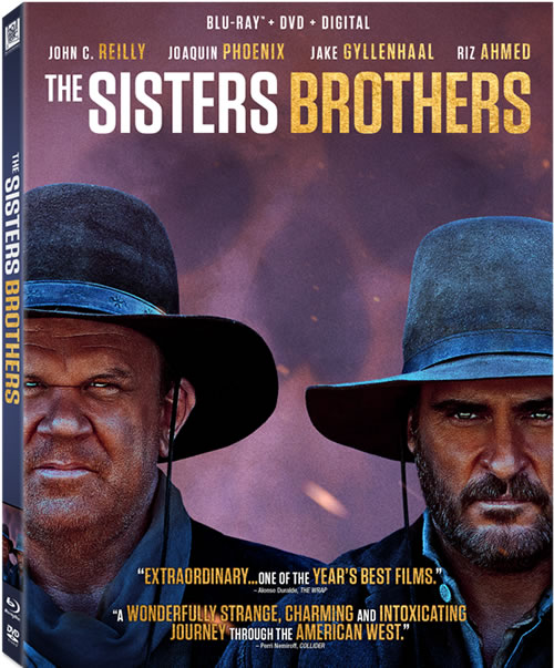 The Sisters Brothers (2018) 720p BRRip X264 AC3-EVO