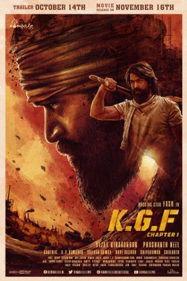 K G F Chapter 1 (Kolar Gold Fields) (2018) Hindi 720p ORG HDRip x264 AAC 5 1 ESubs -JM