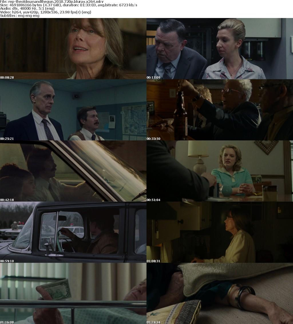 The Old Man And The Gun (2018) 720p BluRay x264-Replicararbg