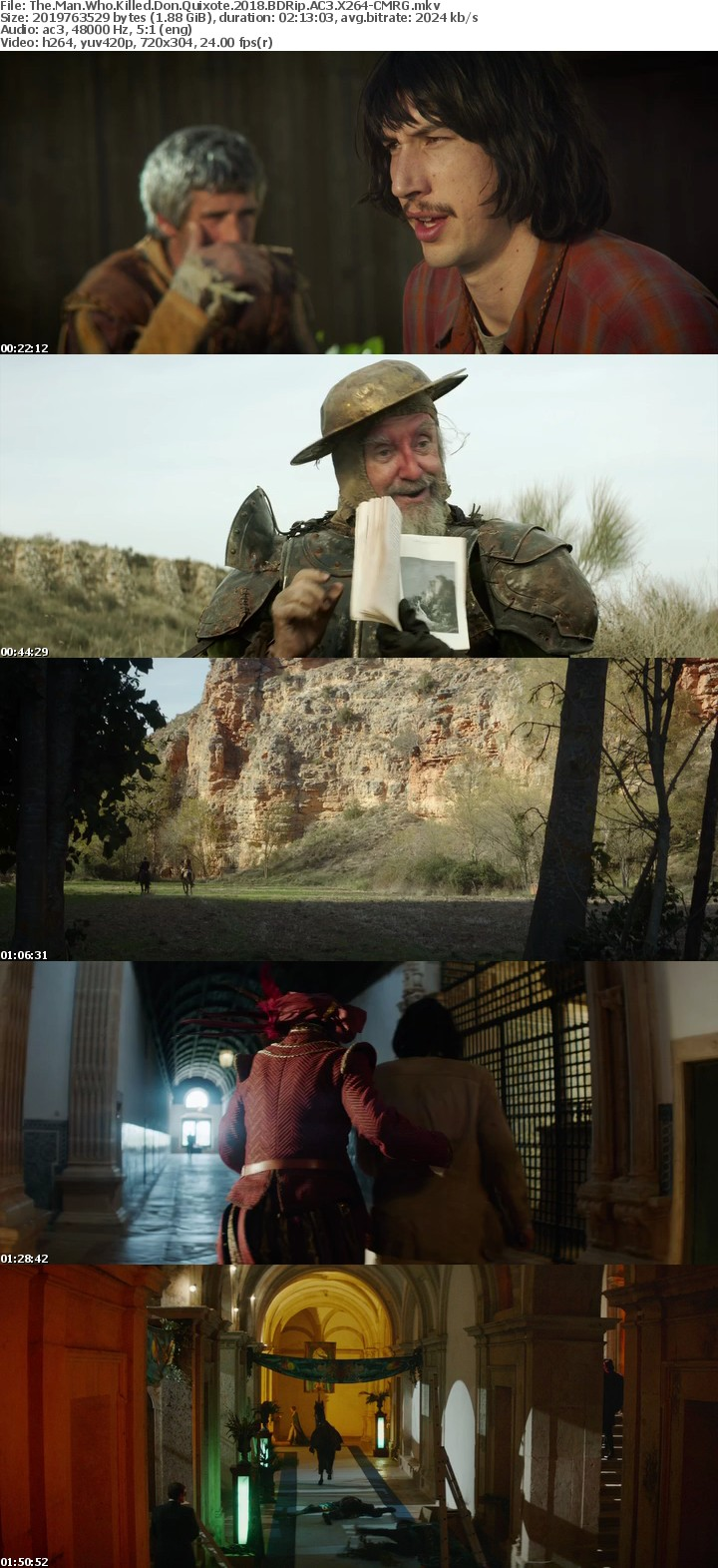 The Man Who Killed Don Quixote 2018 BDRip AC3 X264-CMRG
