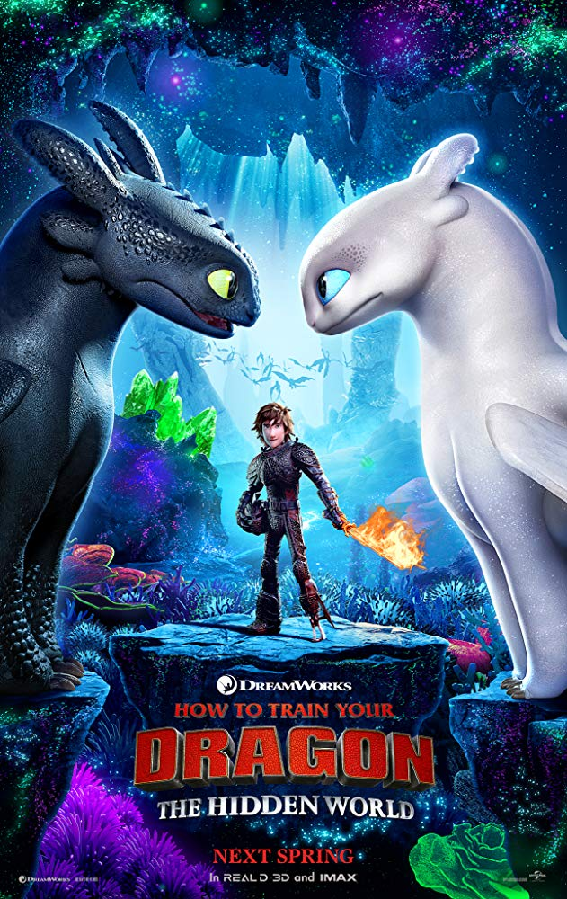 How to Train Your Dragon The Hidden World (2019) 720p HDCAM With Sample LLG