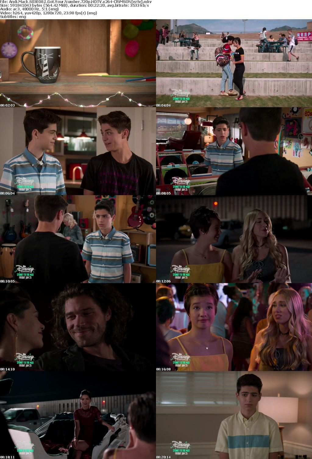Andi Mack S03E08 I Got Your Number 720p HDTV x264-CRiMSON