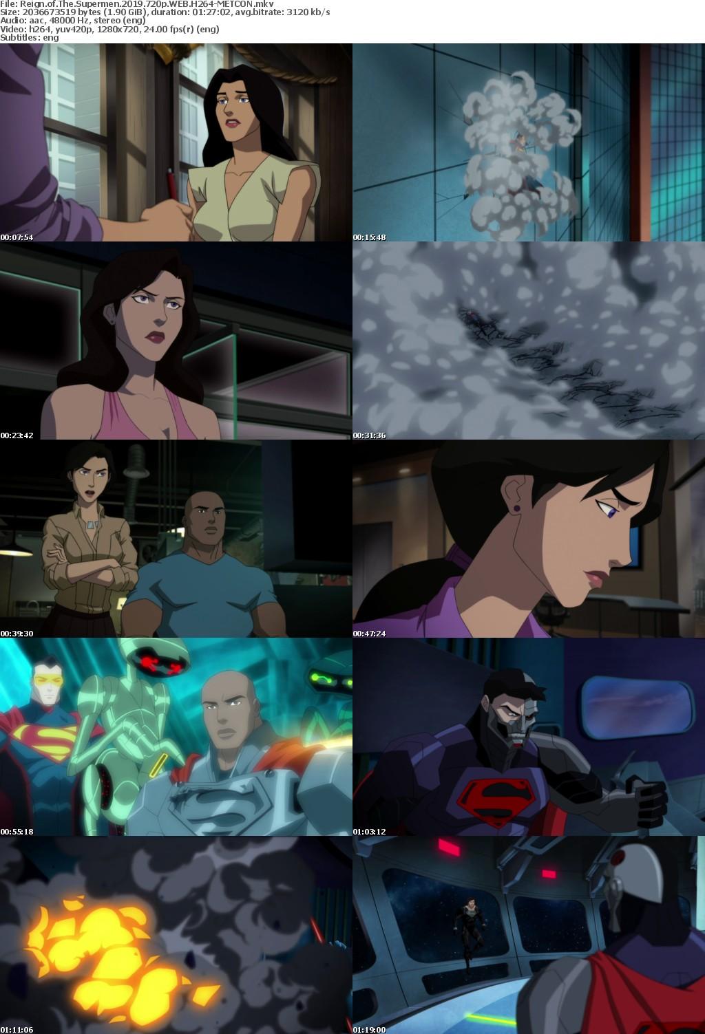 Reign of The Supermen (2019) 720p WEB H264-METCONrarbg