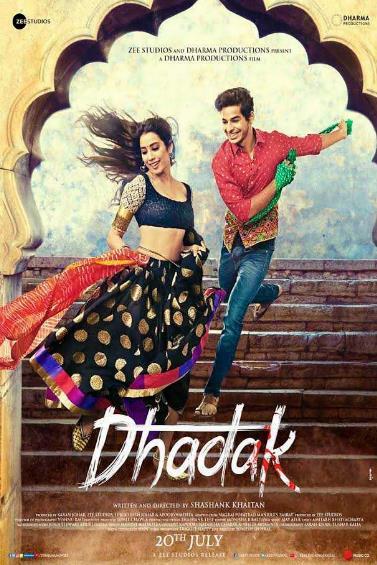 Dhadak (2018) Hindi 720p BluRay ESubs-DLW