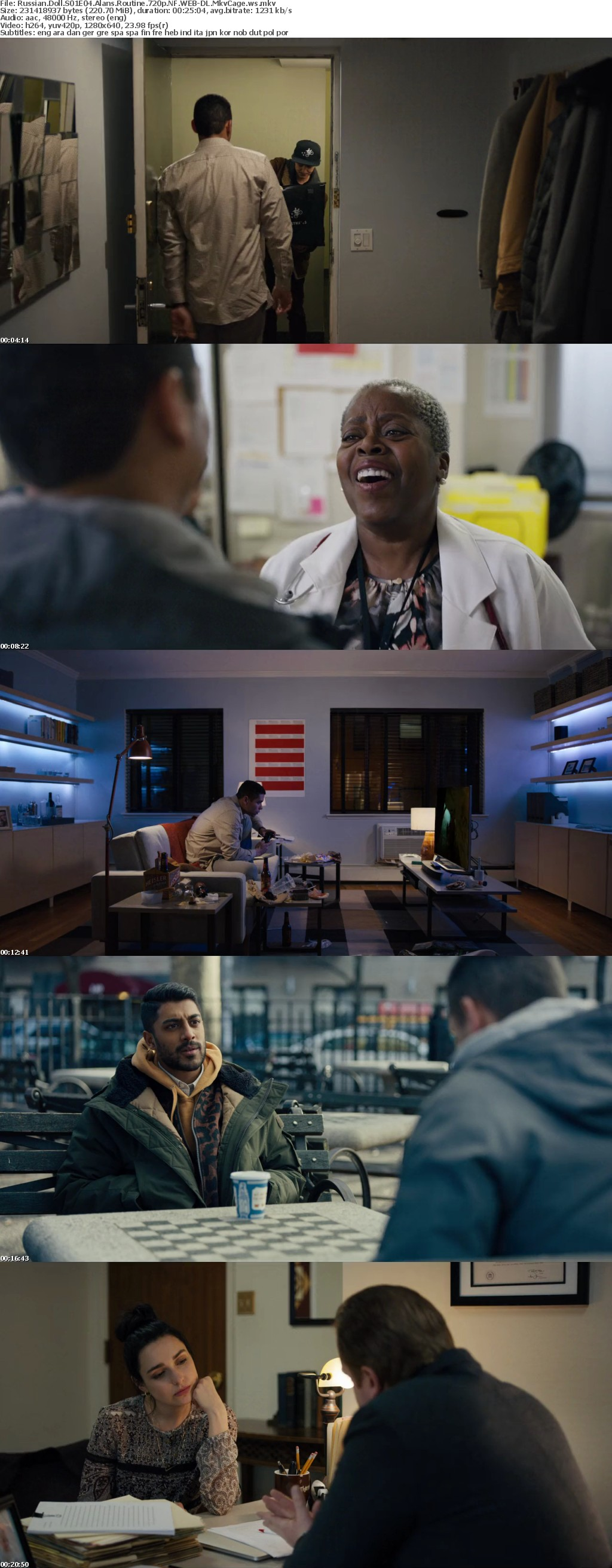 Russian Doll S01 720p NF WEB-DL x264 MkvCage