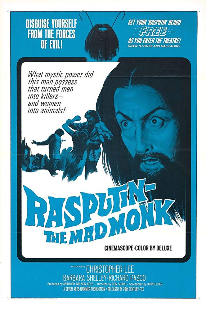 Rasputin The Mad Monk 1966 BRRip XviD MP3-XVID