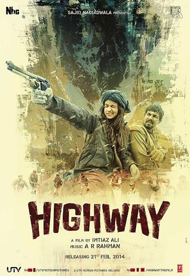 Highway (2014) Hindi 720p WEB-DL x264 AC3 2 0 ESub-Sun George (Requested)